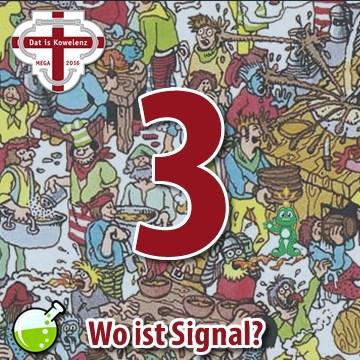 Wo ist Signal?