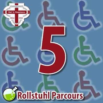 Rollstuhl Parcours