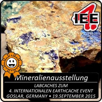 4. IEE Lab-Caches / Die Mineralienausstellung