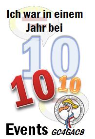 Zehn Events in einem Jahr - Challenge (GCHN Edit.)