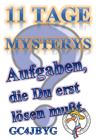 11 Mystery-Tage Challenge (GCHN-Edition)