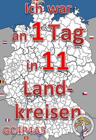 11 Landkreise an einem Tag Challenge (GCHN Edit.)