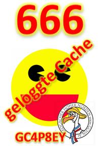 666 geloggte Cache Challenge (GCHN-Edition)