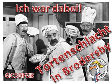 Tortenschlacht in Brodersby