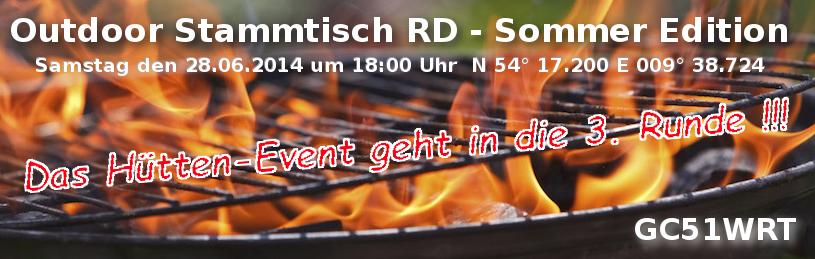 Outdoor Stammtisch RD - Sommer Edition