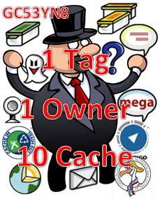 1 Tag- 1 Owner - 10 Cache - Challenge (GCHN Edit)