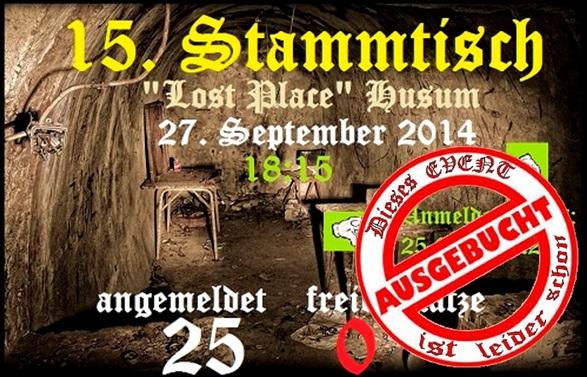 15. Stammtisch Lost Place Husum