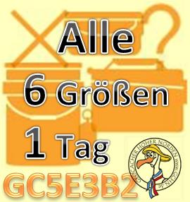 6 verschiedene Gr��en an 1 Tag - Challenge (GCHN)