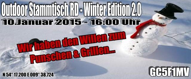 Outdoor Stammtisch RD - Winter Edition 2.0