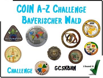 COIN A-Z Challenge Bayerischer Wald