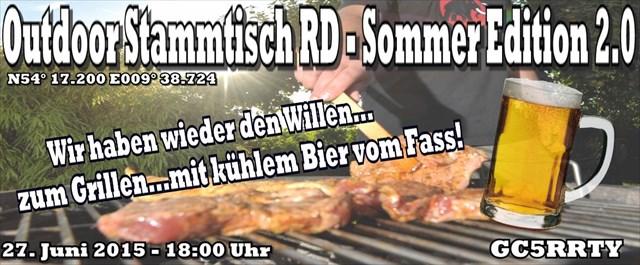 Outdoor Stammtisch RD - Sommer Edition 2.0