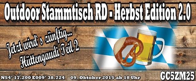 Outdoor Stammtisch RD - Herbst Edition 2.0