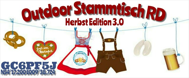 Outdoor Stammtisch RD - Herbst Edition 3.0