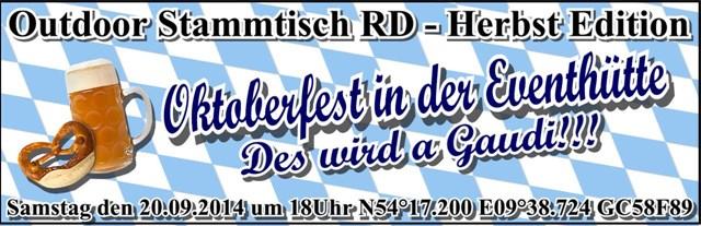 Outdoor Stammtisch RD - Herbst Edition
